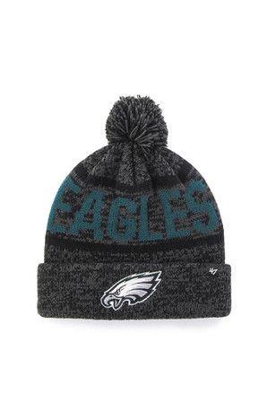74e08435 47 Philadelphia Eagles Grey Northmont Cuff Knit Hat | NFL ...