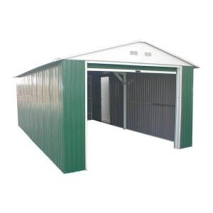 Duramax Building Products 12 Ft X 20 Ft Metal Utility Building 50962 At The Home Depot Metal Buildings Shed Metal Shed