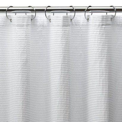 Extra Long Not Sold In Stores Waffle Extra Long Shower Curtain