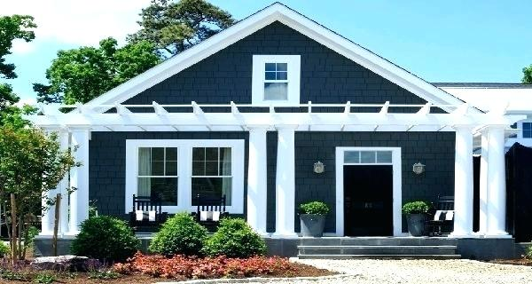 Blue Grey Exterior House Colors Google Search Exterior House Paint Color Combinations Small House Exterior Paint Exterior Paint Colors For House