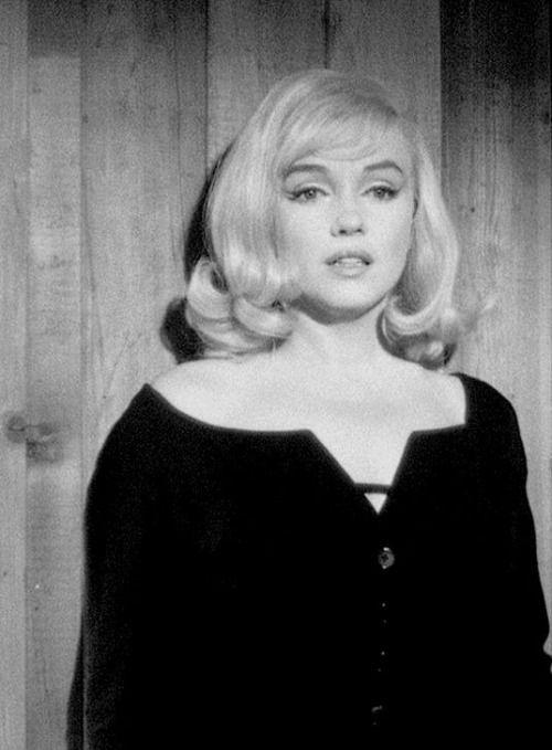 """""""Marilyn Monroe in The Misfits. """""""
