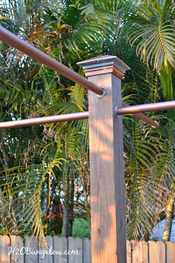 Diy Outdoor Standing Towel Rack Back Porch Pinterest Pool
