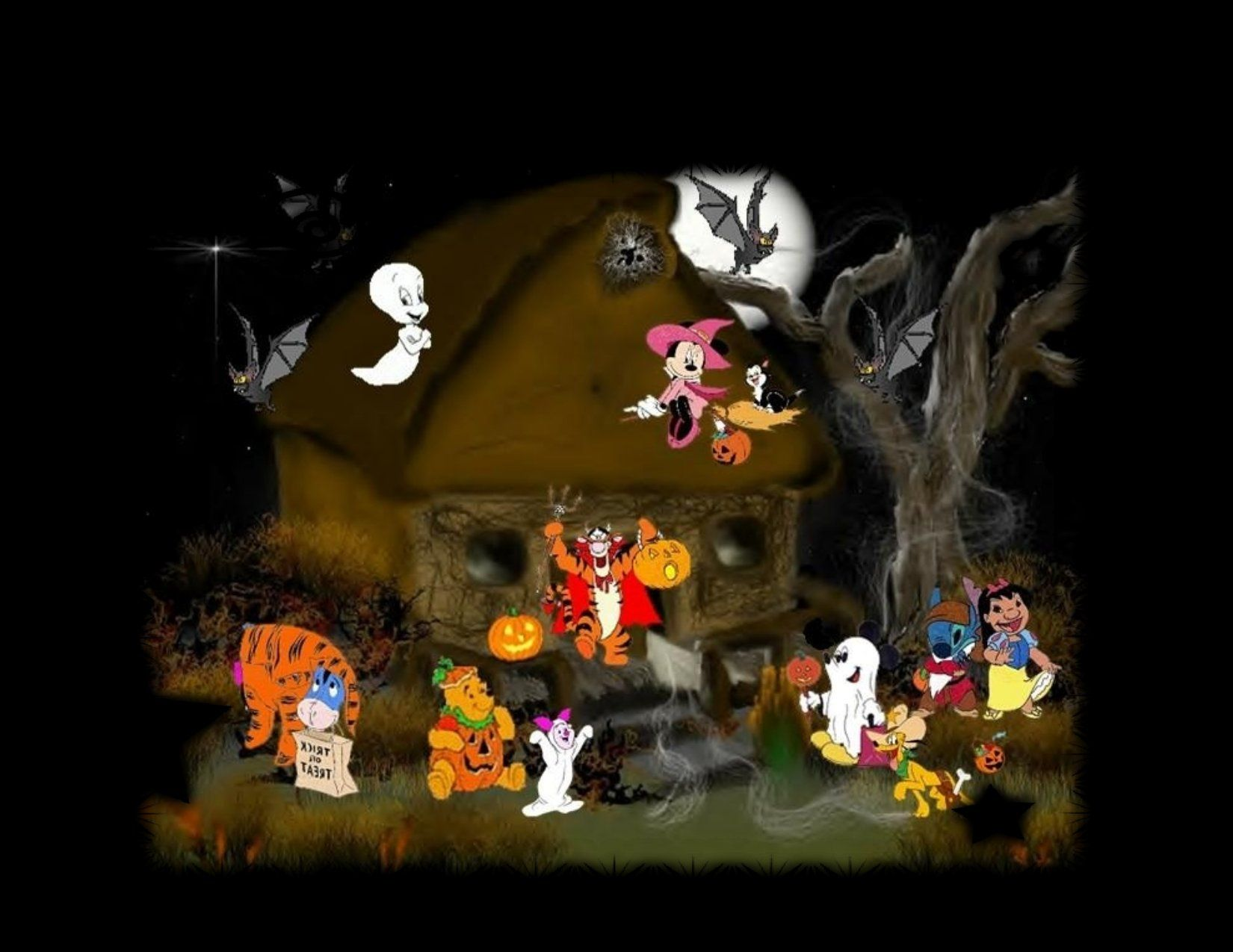 Disney+Halloween+Desktop+Backgrounds | Disney Wallpapers On Disney Computer Desktop  Wallpaper Backgrounds · Scary Halloween PartiesFunny ...