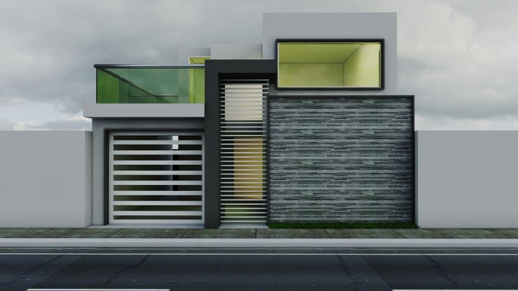 Ideas, imágenes y decoración de hogares Imagenes de casas, Mejores - fachadas contemporaneas