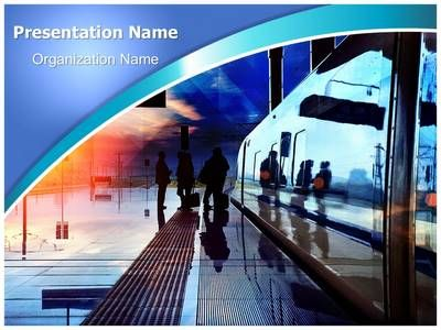 train station powerpoint template is one of the best powerpoint