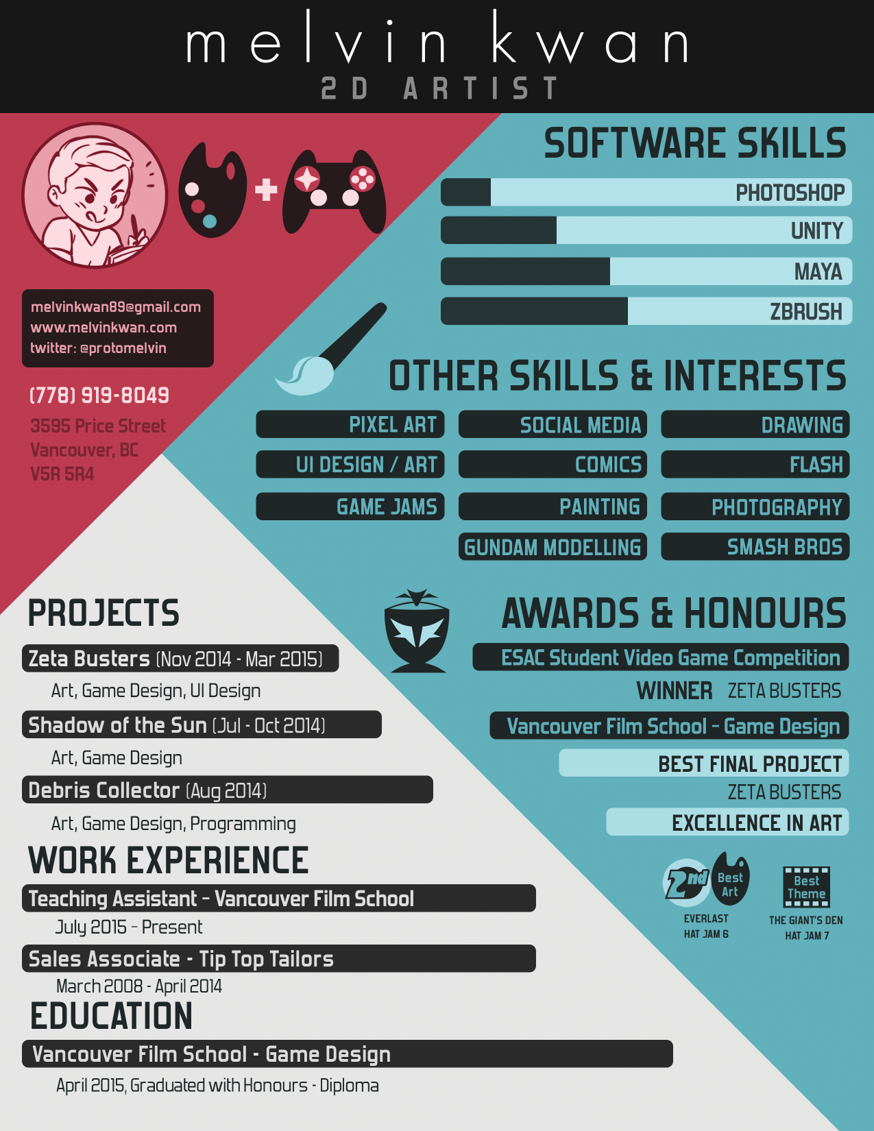 Captivating Resume.png (1275×1650) To Game Design Resume