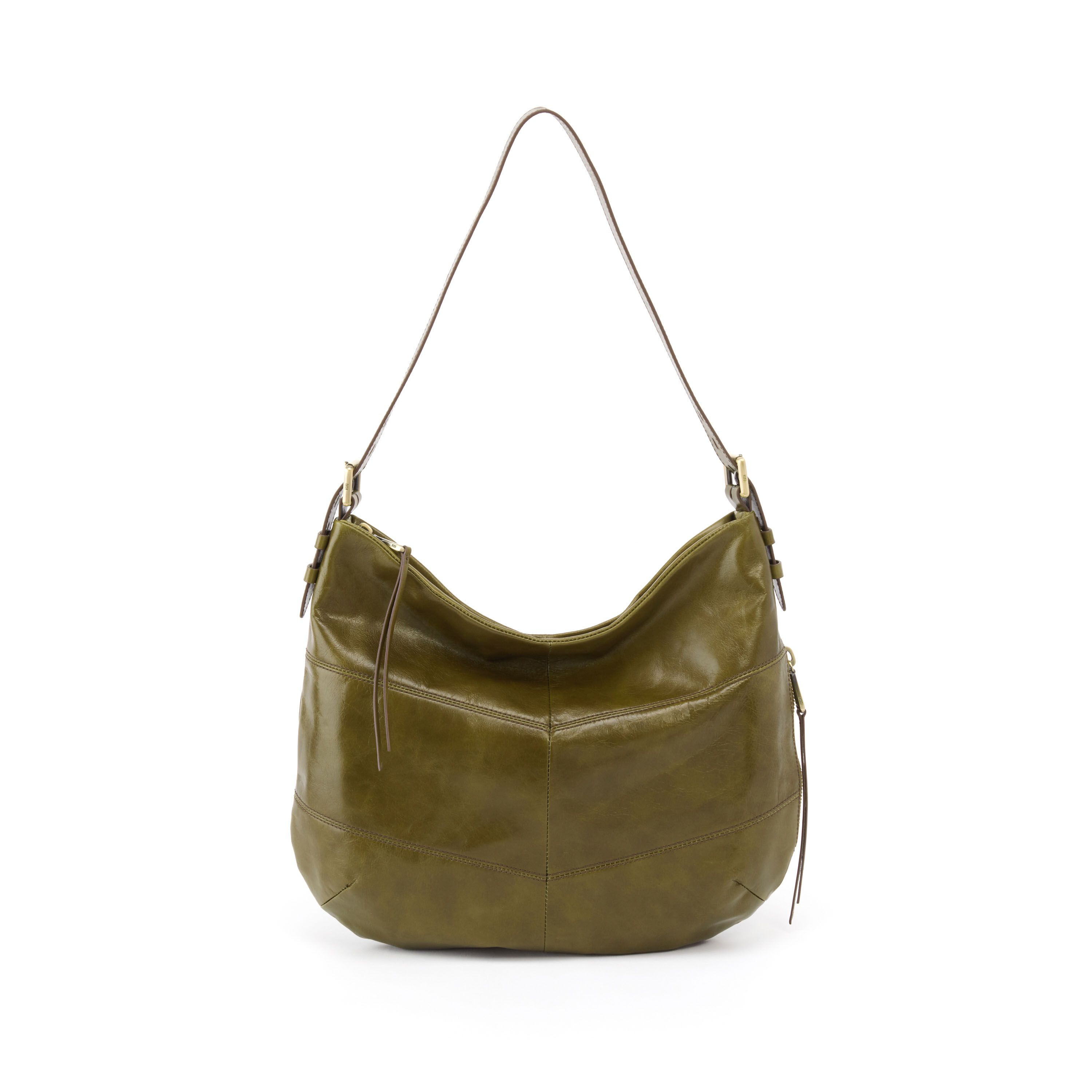 Our Serra bag in willow green leather has a slouchy hobo shape ... 6d55aaa9a0dcb