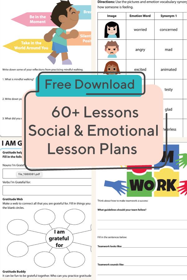 Social Emotional Learning Lessons Social Emotional Learning Lessons Social Emotional Learning Activities Social Emotional Learning