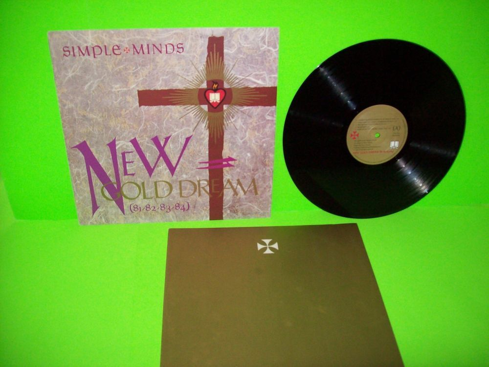 Simple Minds New Gold Dream 81-82-83-84 Vinyl LP Record 1979 Synth ... 2d9b92ee6