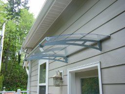 Amazon com : Palram Aquila 1500 Awning - Clear : Window