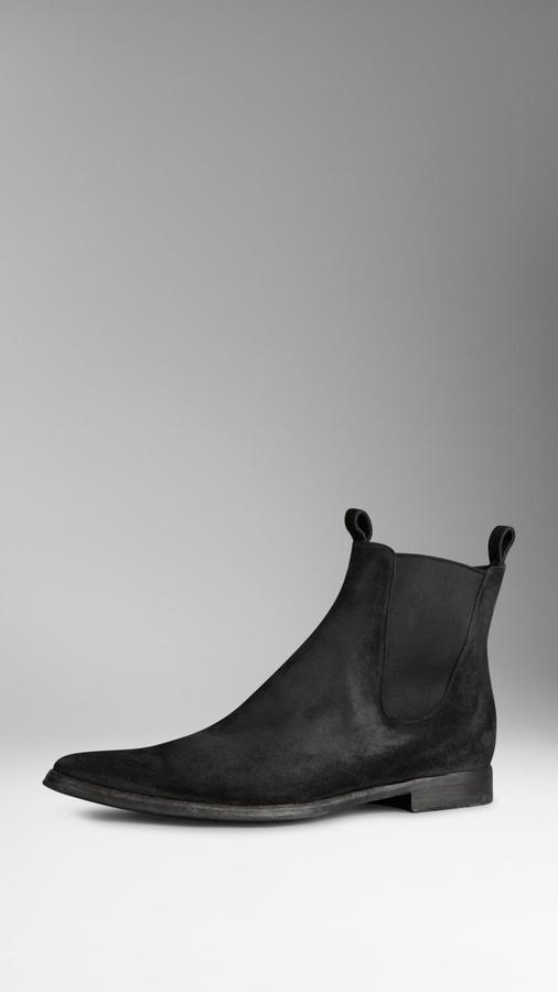Suede Chelsea Boots   Chelsea boots men, Mens suede boots