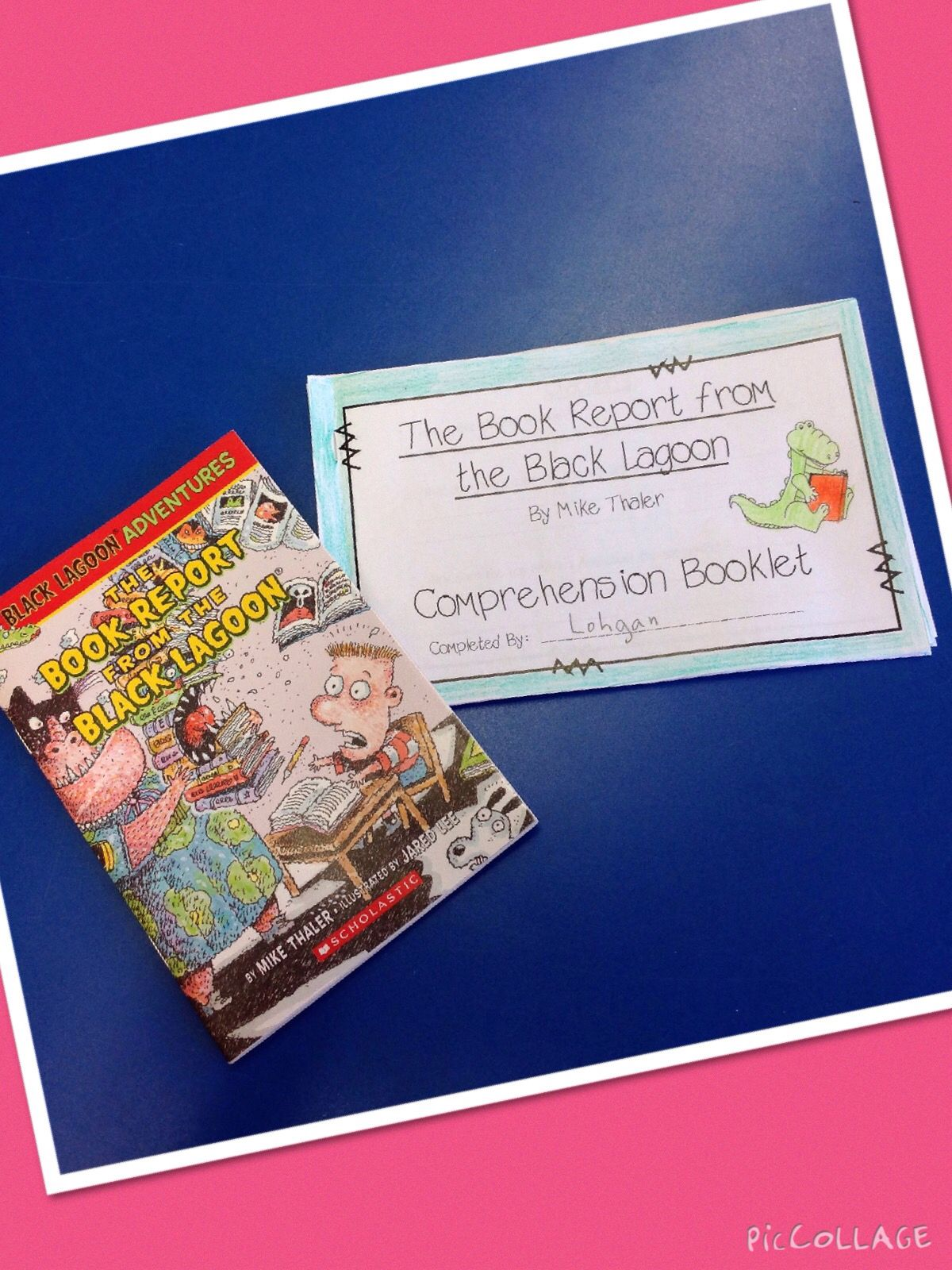 The book report from the black lagoon activities