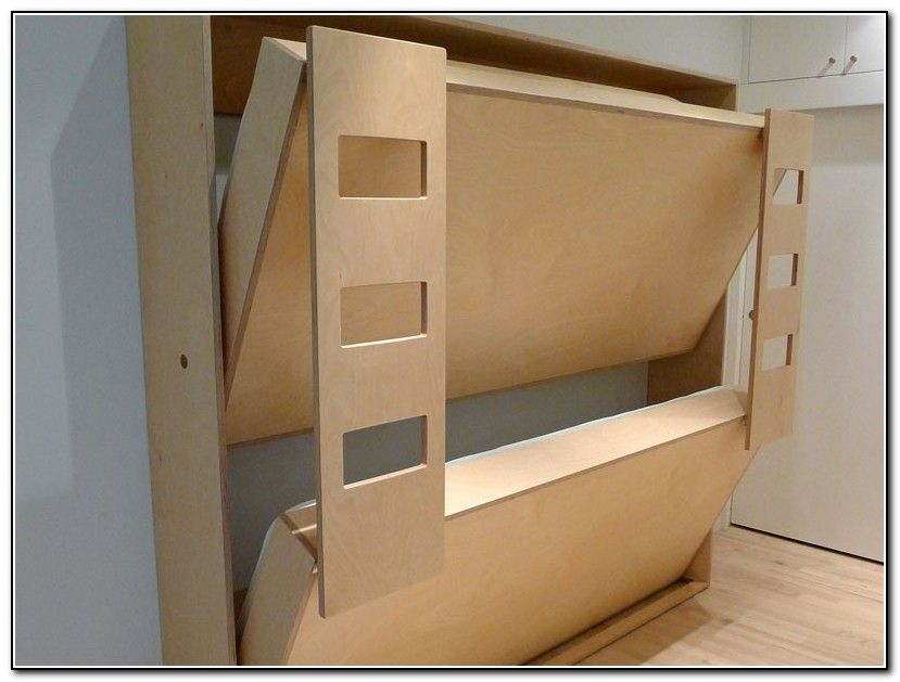Fold Up Bed For Child Cargo Trailer Camper Conversion
