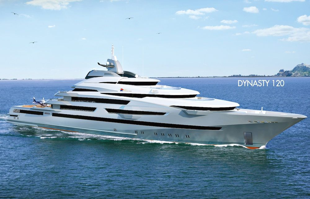 Dynasty Yachts unveils 120 metre superyacht SuperYacht