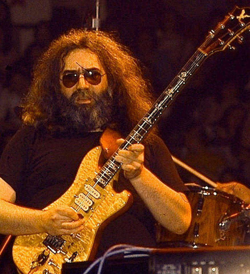jerrygarcia #wolfguitar | Jerry Garcia | Pinterest | Grateful dead ...