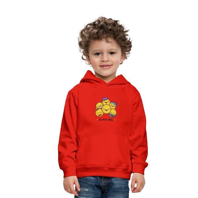 Always Smile Funny Emoji TShirts  Hoodie  Sweatshirt  Cool T Shirt