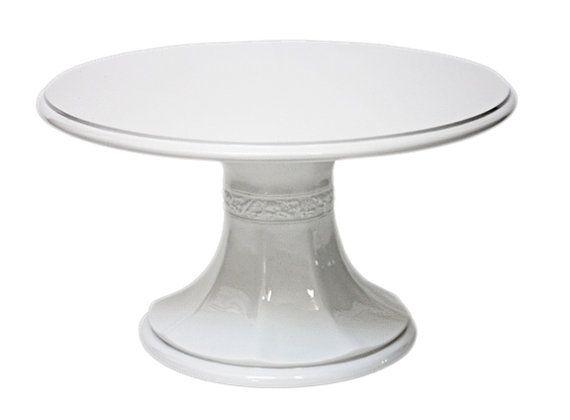 16 Inch White Pedestal Wedding Cake Stand By Weddingfads On Etsy 135 00