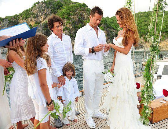 Beautiful Brooke Burke Wedding