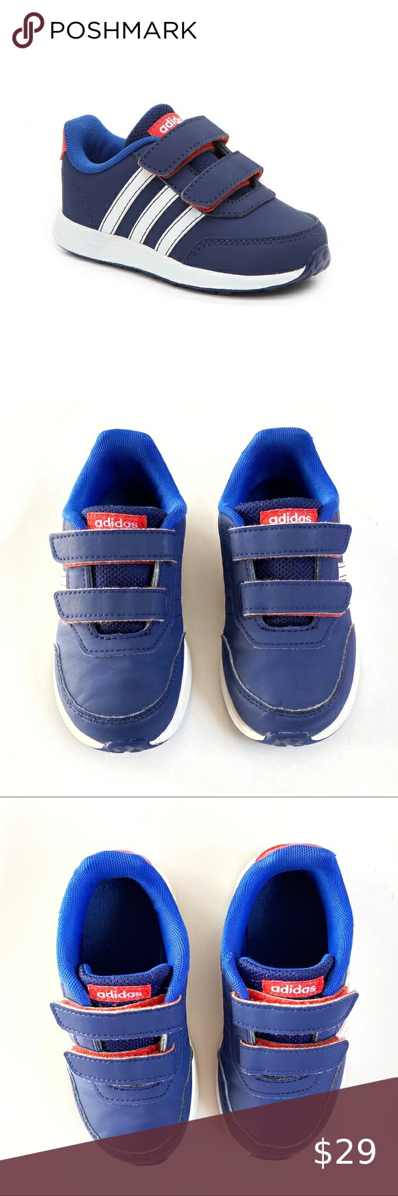 Adidas kids blue white red switch 2 sneaker shoes   Shoes sneakers ...