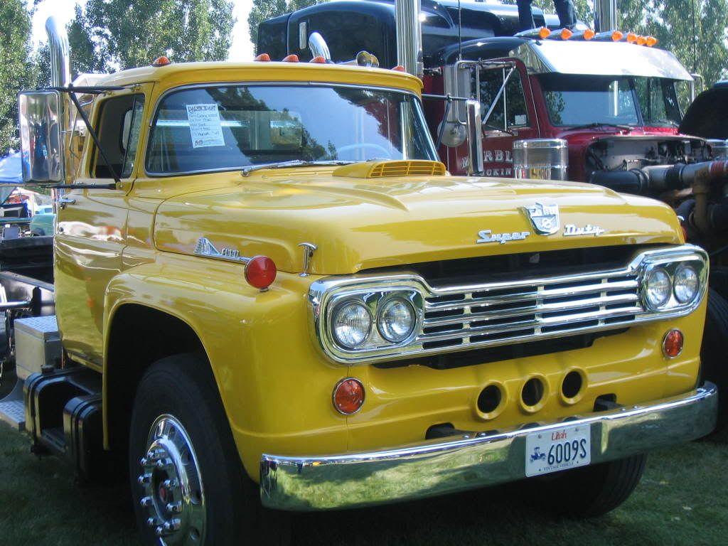 1958 Super Duty Ford Truck Ford Pickup Trucks Old Ford Trucks Big Trucks