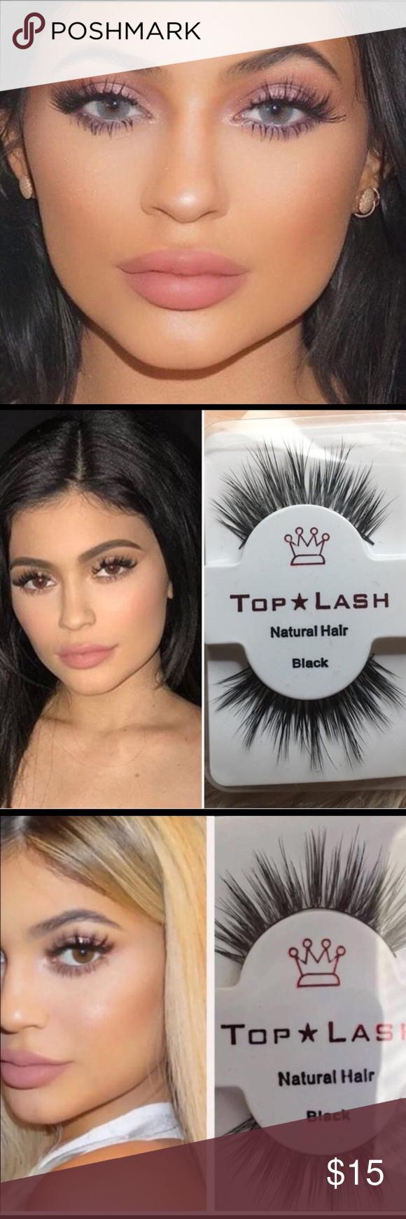 039f67d3201 5 Pairs Kylie Jenner Top Lash Eyelashes 5 pairs of our Kylie Jenner Top  Lashes 5 star rated ✨ Sephora Makeup False Eyelashes