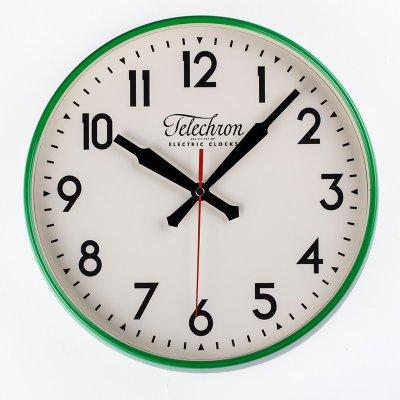 The Corby Wall Clock Hayneedle Green Clocks Large Digital