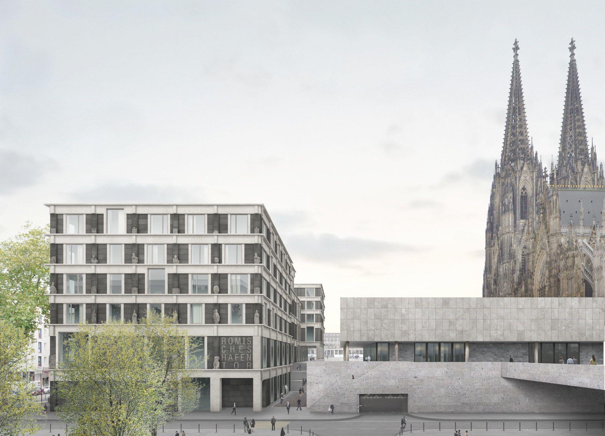 Neue Historische Mitte - Volker Staab gewinnt in Köln   Pinterest ...
