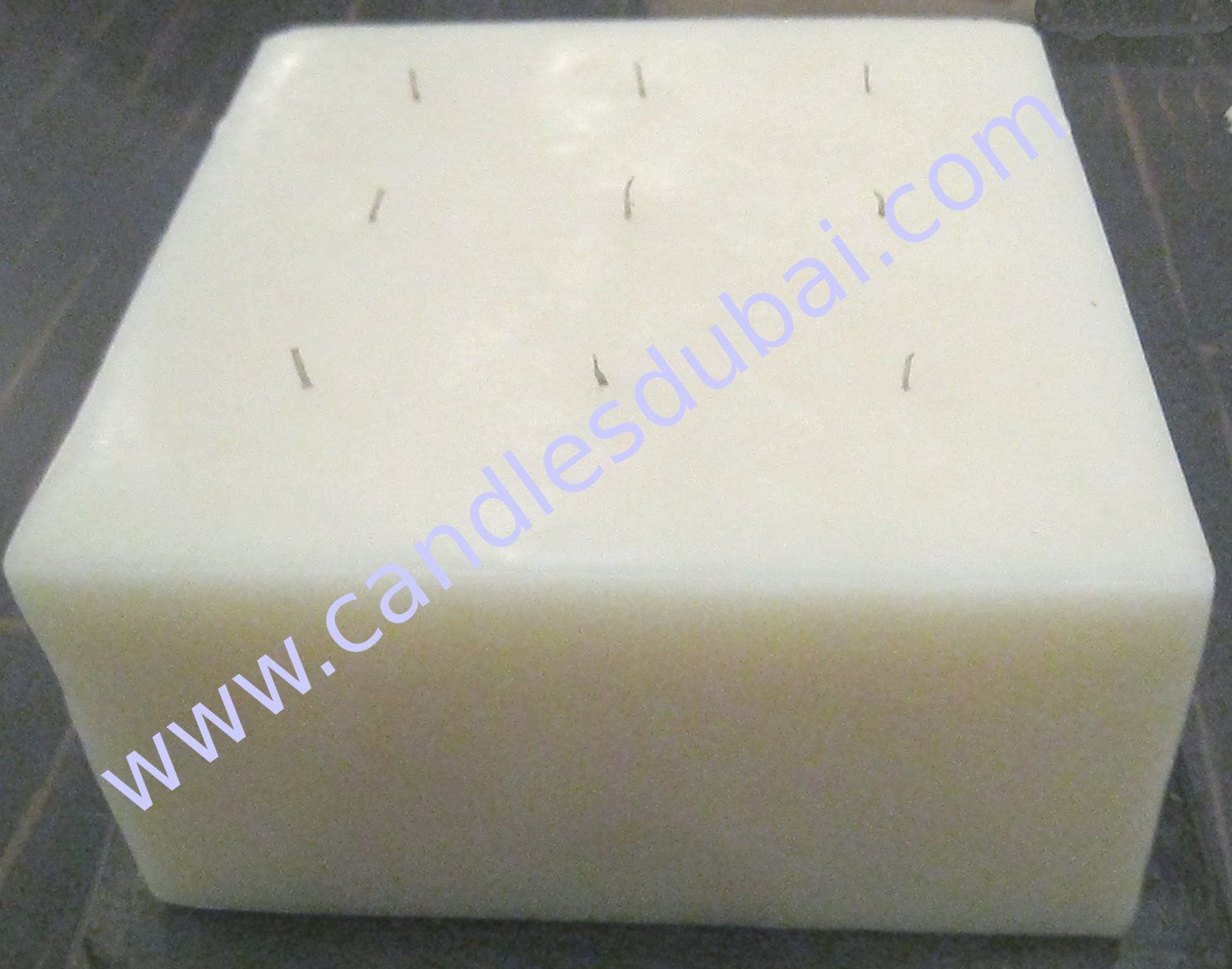 Multi Wick Candles Giant Square Block Candle With Multiple Wick Candles Candles
