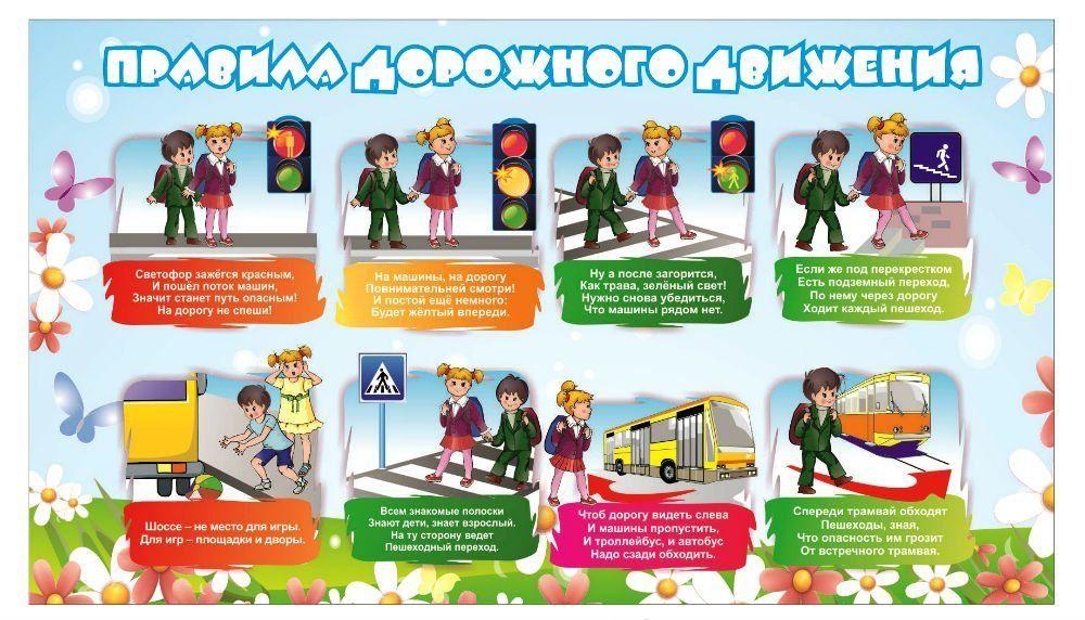 Рассказы детей о правилах дорожного движения