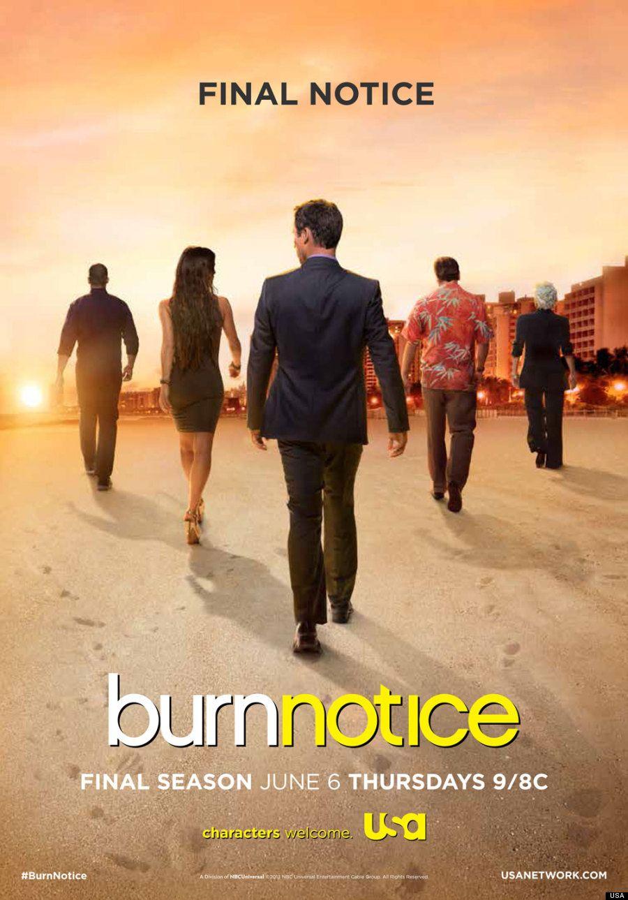 burn notice final season key art
