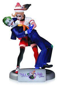 DC Comics Bombshells Joker & Harley Quinn Statue 2nd Ed