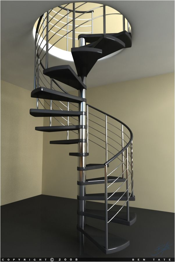 Best Spiral Stairs Google Search Space Saving Staircase 400 x 300