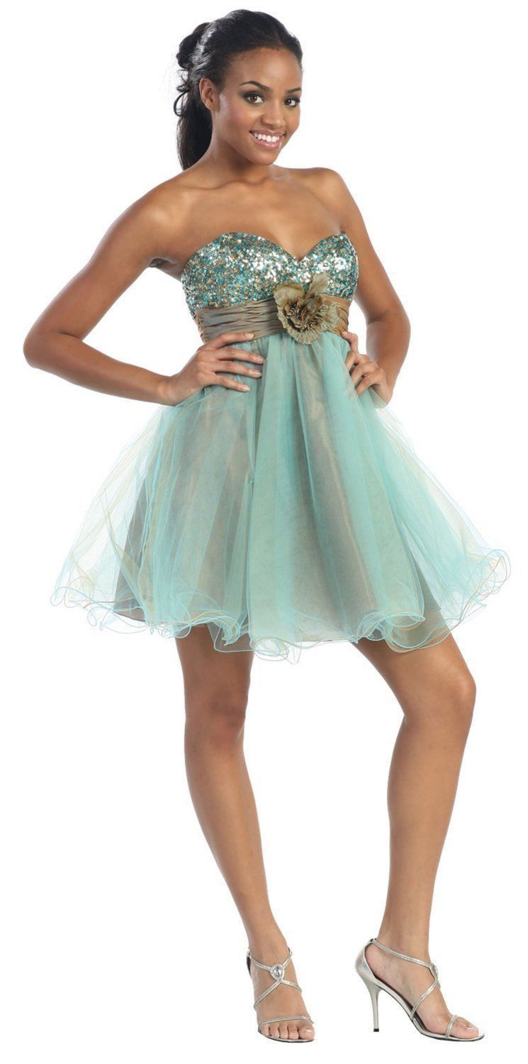 Short Tulle Prom Dress Sassy Homecoming Mini Formal   Tulle prom ...