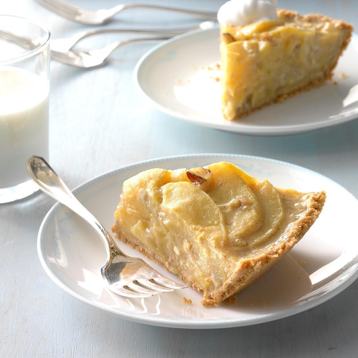 No-Bake Apple Pie | Recipe | Recipes | Baked apples ...