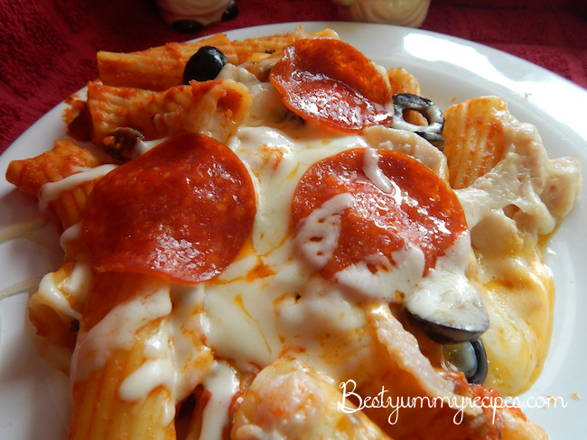 Crock Pot Recipes Pizza Pasta It Was So Easy To Make And It Was