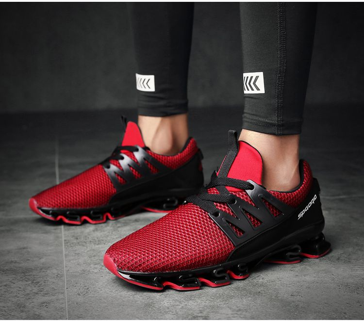 new arrival 2cfce 20b2f New Model Spgorio Running Red Sneakers ~run running sneakers sneakernews  fitness fitnessmotivation fitnessmodel mensfashion menswear