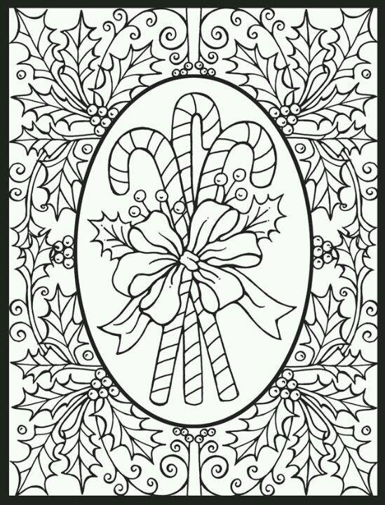 Pin de Megan Clark en Coloring Pages | Pinterest | Mandalas, Navidad ...