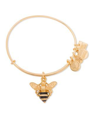 Alex And Ani Ble Bee Expandable Wire Bangle Charity By Design Collection Bloomingdale S