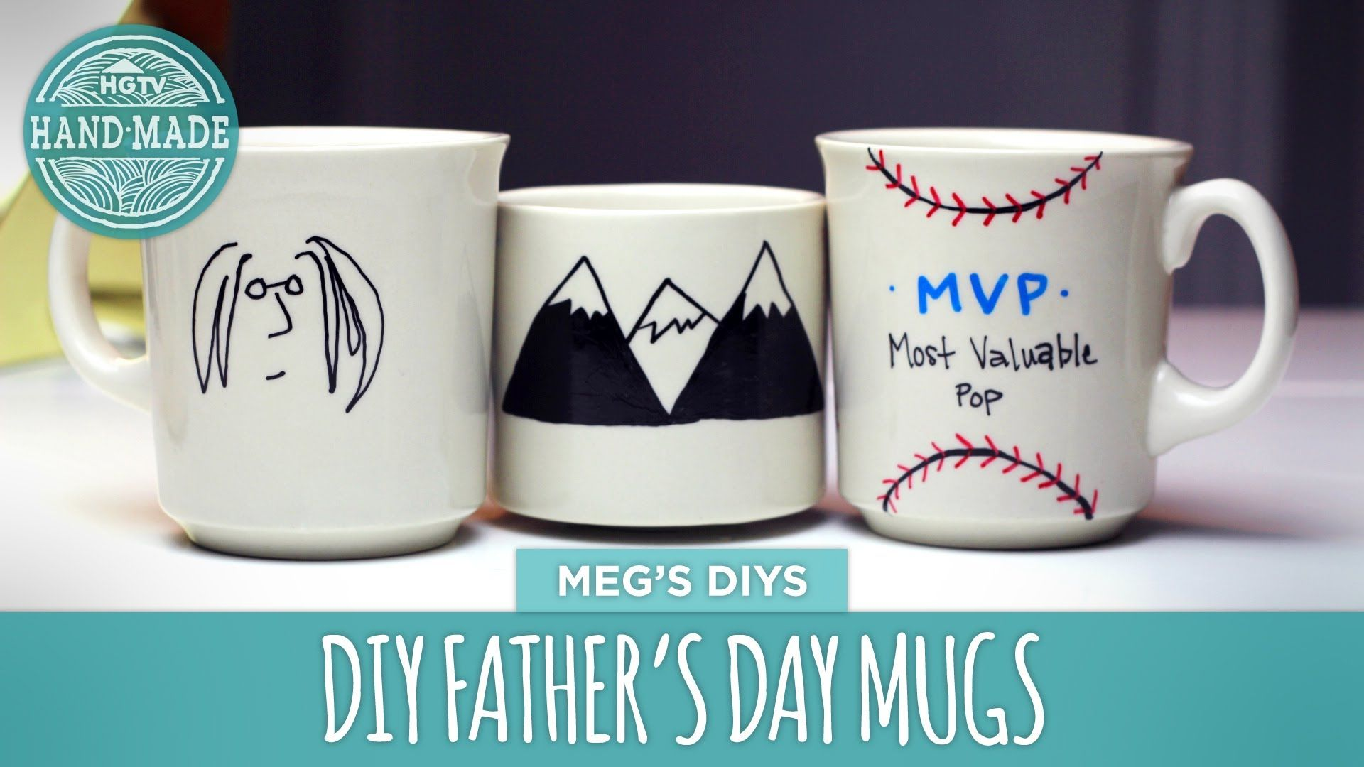 Did you know that they key to DISHWASHER SAFE DIY mugs is oil based