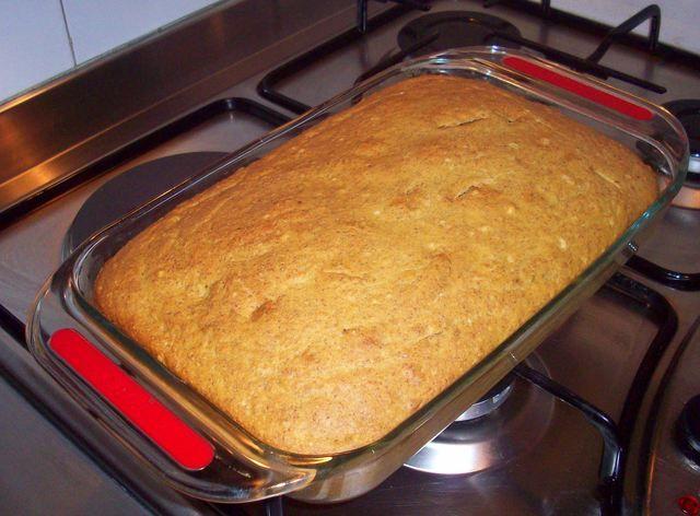 Torta de Plátano Frito - Comida Tradiciònal Venezolana (Fried Plantain Cake - Traditional Venezuelan Food)