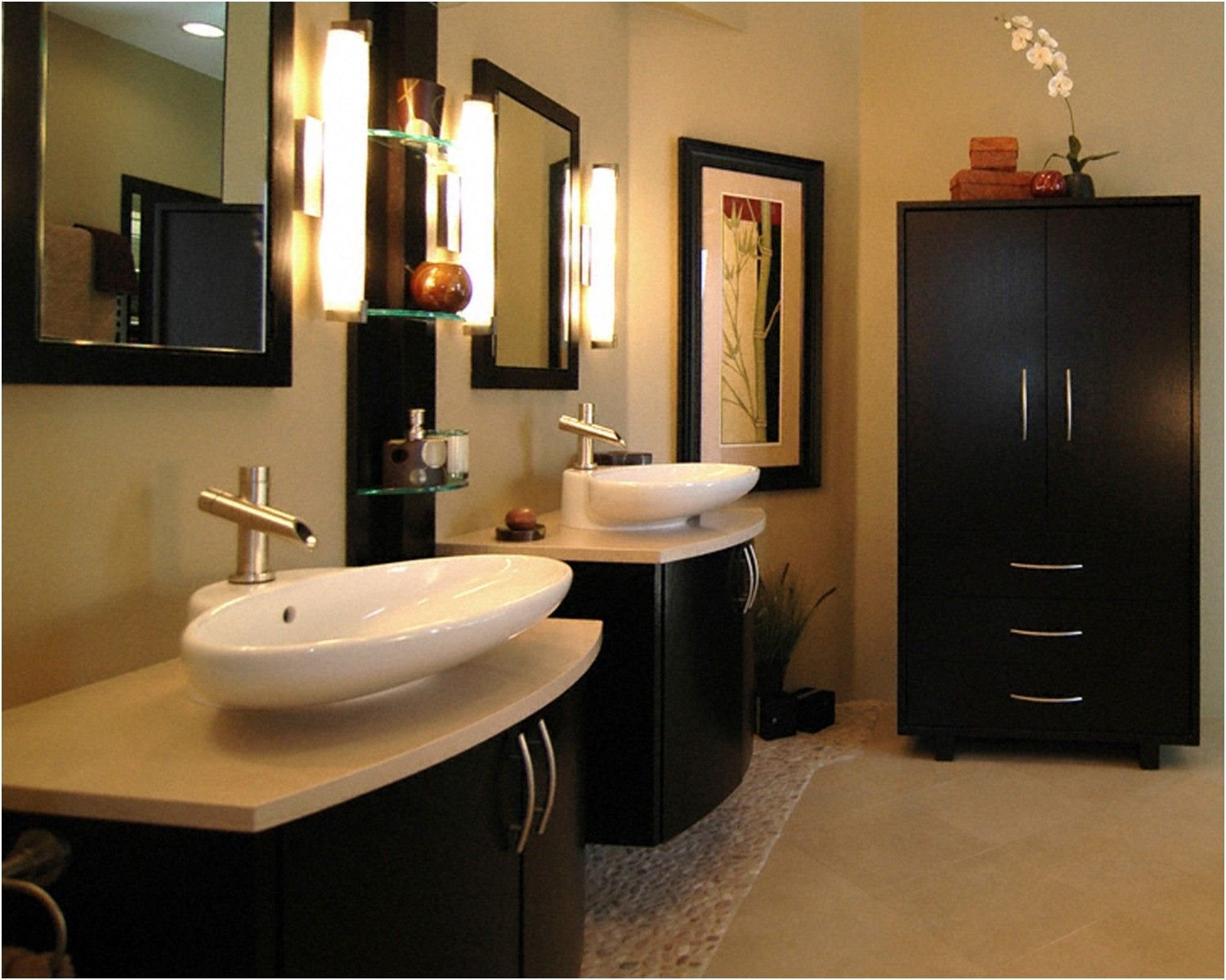 25 Best Asian Bathroom Design Ideas Vessel Sink Sinks And From Asian Bathroom  Design