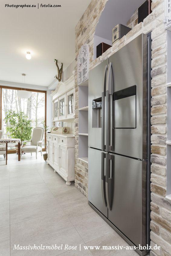 Landhausmöbel küche  Landhausmöbel - #Küche in #Weiß | Ideen rund ums Wohnen und ...
