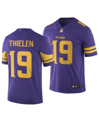 31a8eb78 Nike Men Adam Thielen Minnesota Vikings Limited Color Rush Jersey in ...