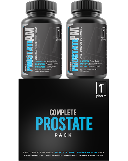 Complete Prostate Pack  How To Regulate Hormones, Reduce -5445