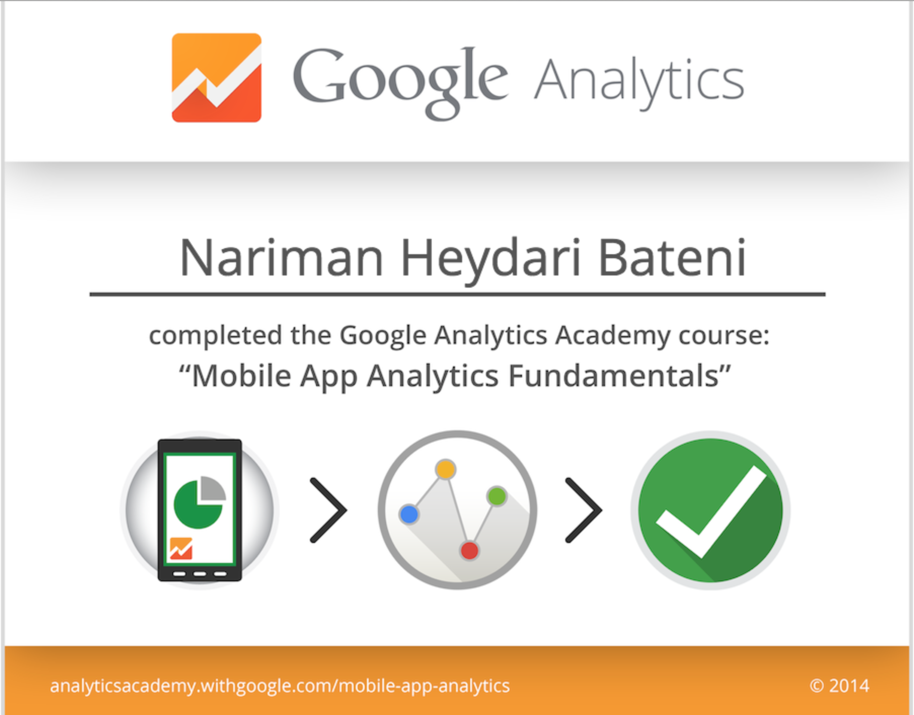 Mobile app analytics fundamentals course and certification by mobile app analytics fundamentals course and certification by google november 2014 1betcityfo Image collections