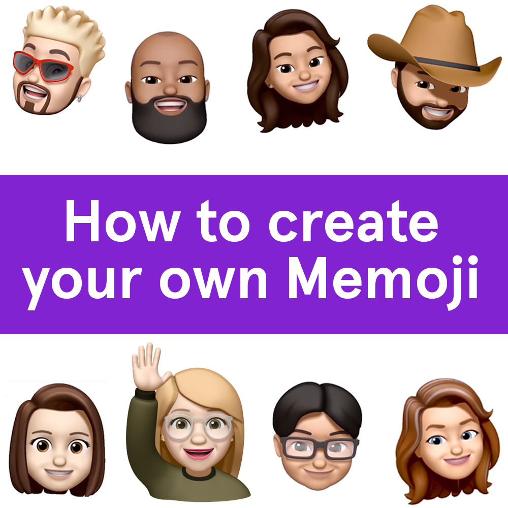 Create Use Delete Your Memoji Custom Create Face