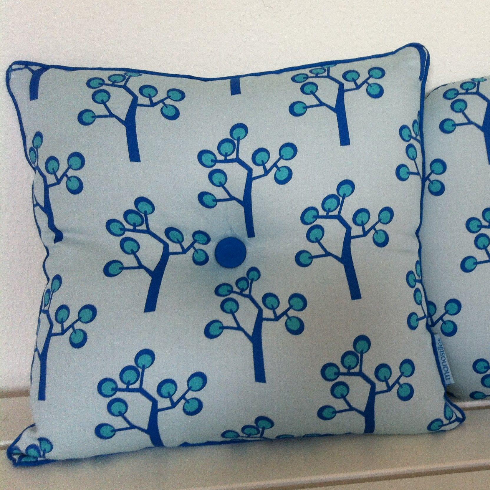 Graphic Tree Kids Cotton Throw Pillow