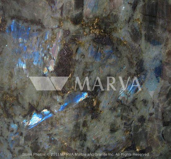 LABRADOR BLUE AUSTRAL  Origin : Madagascar  Color Group : Blue  Stone Type : Granite  Manufacturer : Marva Marble