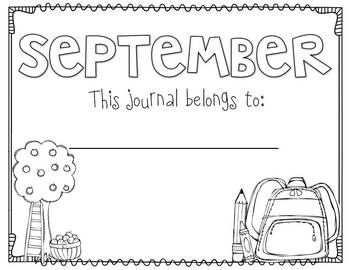 Let's Write! {monthly journal writing}