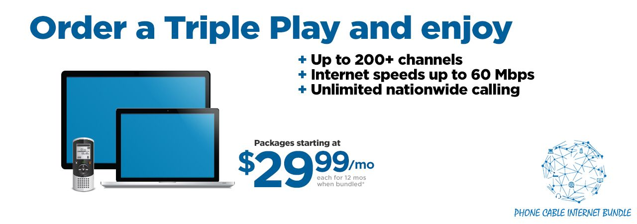 The Best Package in Phone, Cable and Internet Services | Phone Cable